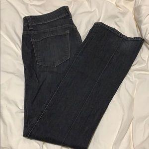 Ann Taylor size 4 dark jeans, modern fit